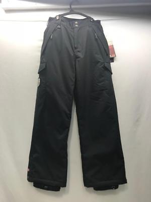 Quiksilver Junior Atreyu Snowboard Snow Ski Pants Black Medium NEW