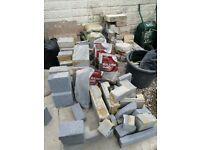 FREE Blocks - Ideal for Pond, Garden Pots, Rock Gardens or Home Projec