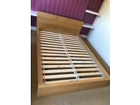 Wooden Frame Double Bed