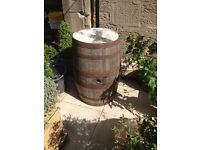 Large barrel for garden or indoors