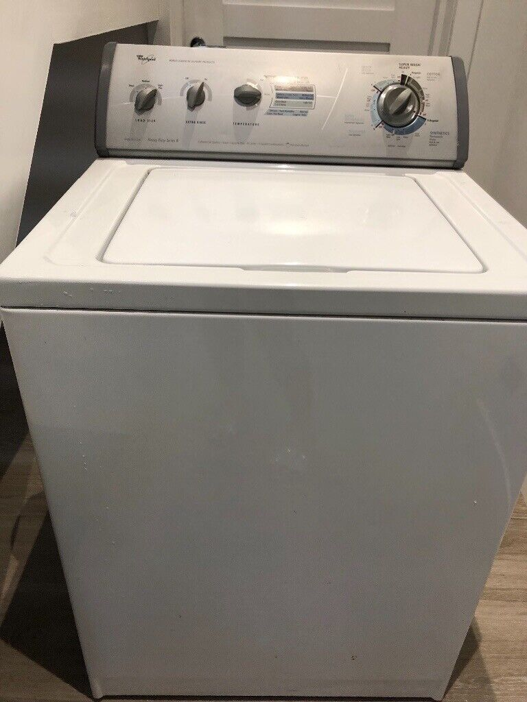 Whirlpool American heavy duty top load industrial / commercial washing  machine | in Motherwell, North Lanarkshire | Gumtree