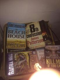 james patterson and other auther books