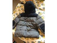 Thick winter coat 4-5yrs