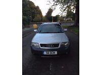 Audi A6 Allroad 2.5L TDI 2001, Grey