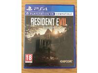 Sony Playstation 4 Game - Resident Evil Biohazard