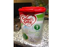 Cow And Gate 1 First Milk Powder 900G sealed unopened