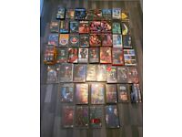 sci-fi bundle 49 x VHS VIDEOS tapes, incl SPECIES,DUNE,X-Files, collect BRISTOL