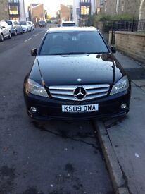 Mercedes Benz C220D AMG SPORT BRILLIANT CONDITION 2009 AUTO 2 OWNERS
