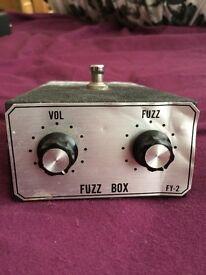 Vintage Shin-ei FY2 Fuzz!
