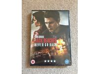 Jack Reacher Never Go Back DVD