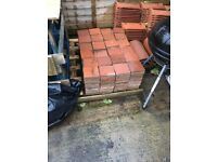 Reclaimed Red Quarry Floor Tiles