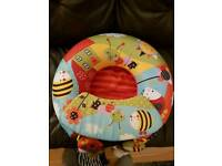 Baby Inflatable ring seat