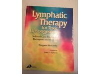 Lymphatic Therapy for Toxic Decongestion by Margaret McCarthy. . . . .