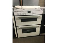 Indesit FIMU23WHS Electric Built-under Double Oven - White