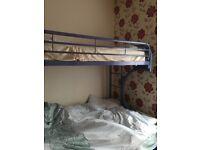 Solid Metal Bunk Bed