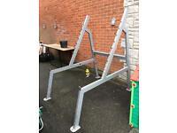 Squat rack & smith machine