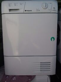 8kg hotpoint Condenser dryer free local delivery allelectricals