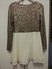 Missguided sequin dress. Size 12