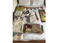 Mamas and Papas Timbuktales bedding set