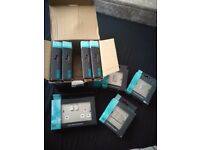 Brand New and Boxed Light Switches and Sockets