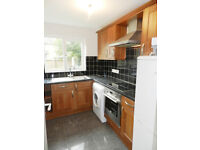Spacious redecorated 1 bedroom flat with garden and parking. Modern kitchen and bathroom.