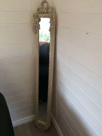 Cream ornate decorative mirror new £35 Downpatrick