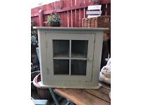 Lovely solid pine small cupboard