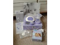 Lansinoh Single Electric Breast Pump with Extra Breastmilk Storage Bags