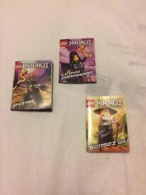 Lego Ninjago Spinjitzu Instruction Booklets