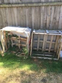 Free wood - 2 box crates