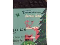 Electric Fields fri-sat camping ticket Posh loos + showers £100