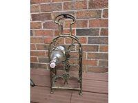 7 bottle wine rack carrier holder beautiful shabby chic