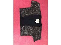 Abercrombie and Fitch Sequin Shrug