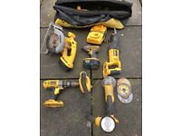 Dewalt power tool set needs battery