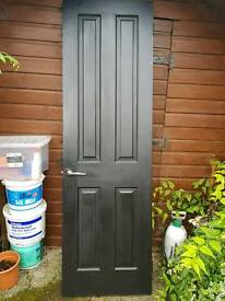 4 x Solid Wood Doors with handles/hinges