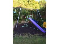To giant 3 swing set only not the slide