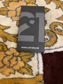 BRAND NEW SEALED SAMSUNG GALAXY S21 ULTRA(5G)DUAL SIM 128GB BLACK 6.8 INCH ANDROID MOBILE(UNLOCKED)