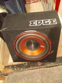 900 watt edge sub and amp