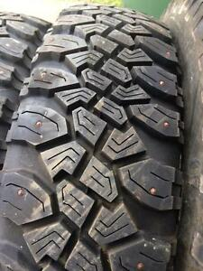 4 pneus lt 215/85r16 8 plies bf goodrich a 16/32