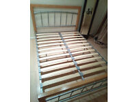 Double Bed Frame £40