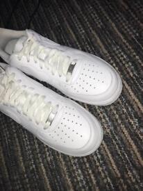 Nike Air Force 1 (white) brand new