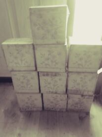 Wall tiles ( ceramic glazed) x 10 boxes £5 the lot .6x6 inches