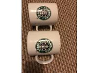 Starbucks Venti mugs x2