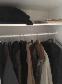 Ikea white wardrobe NOW SOLD