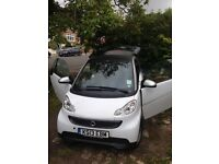 Smart car fortwo VERY LOW MILES as new condition leather, auto, £0 RoadTax