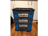 Tool Box Stackable on wheels, Workstation. Systainer.
