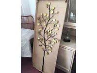 Beautiful metal wall art 'tree' - still in box