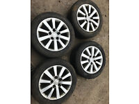 "honda civic ep2 sport alloys 16"" 5x114 with tyres"