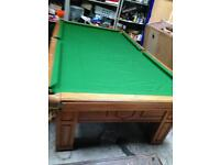 Pool table 9x5 slate bed