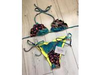 Animal print bikini from Bliss Intimates size 6/8